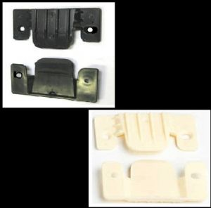 Sofa & Divan/furniture Interlocking Plastic Connector Clip. BLACK or CREAM. 2-100
